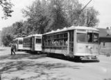 Birney's 20, 21 & 25,  Ft. Collins Municipal St. Rwy. Rocky Mt. R.R. club C&S - Great...