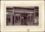 Miss Burney's store