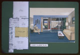 First floor plan, Green Mountain Townhouses