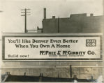 Billboard for McPhee & McGinnity Co.