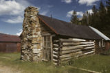 St. Elmo log cabin
