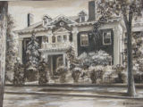 The Governor's mansion (Claude Boettcher home) [art original].
