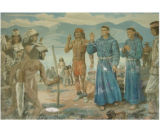 Fathers Escalante and Dominguez [art original].