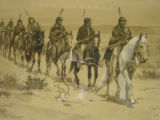 Navajos on the move [art original].