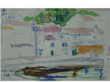 Lusinpicollo Istria [art original] : small fishing island.