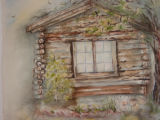 South end of cabin, Allens Park, Colo [art original].