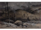 Eastern slope -- Marshall Pass [art original] : the Great loop on the Denver and Rio Grande...