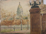 [Colorado State Capitol] [art original].