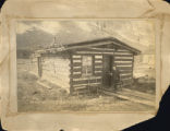 Snowden, first resident in Silverton, Colo. and first cabin built, 1874