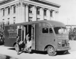 First Bookmobile used DPL - put into service Nov 1950