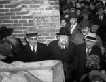 Cornerstone of Yeshiva laid