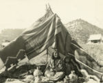 Chipeta and grand-niece, Dragon, Utah, 1918