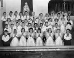 Holyoke - St. Patrick's Church First Communion Class May 17, 1953