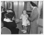Mother, daughter and Southern Pacific stewardess / RN