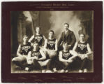 Colorado Champion Basket Ball Team, 1898.