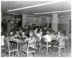 Hallett School cafeteria