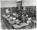 Newlon School classroom with students