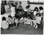 Dora Moore School students in classroom