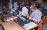 Kunsmiller Junior High School night typing class