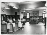 Warren Library interior