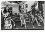 Woodbury Branch Diversity Days Native American dancers