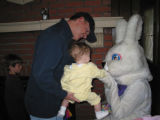 Decker Branch Easter Bunny visit