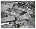 Aerial of Denver Coliseum