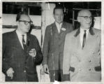 Denver Mayor Quigg Newton, Robert Faes and unidentified man