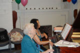 Decker 100th Anniversary Party pianists