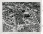 Aerial of the Denver Stock Yards