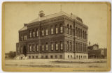 Postcard of the Old Denver High School building.