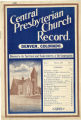 The Church Record: Vol. 1 No. 2