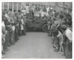 Barnum Elementary School with Army Jeep