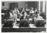 South High School Typewriting Class
