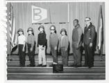 Boulevard School 1966 Color Guard