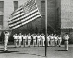 Ebert School color guard