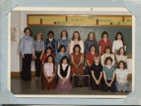 St. Philomena seventh grade class