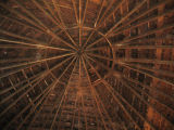 DeLaney Round Barn Ceiling
