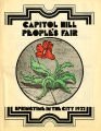 Capitol Hill People's Fair: Spring in the City 1977