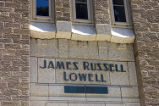 Architectural detailing on the James Russell Lowell Building