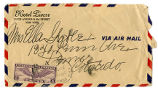 Stationary envelope from the Hotel Pierre, New York City, postmarked from New York, New York