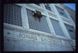 Jonas Brothers Furs Building, name engraving
