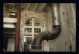 Tivoli Brewery Company, view of inside of building, kettle