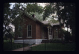 9th Street Historic Park, Auraria Campus, exterior view of house