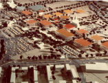 Aerial view of model, Auraria Higher Education Center