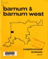 Barnum and Barnum West: neighborhood analysis