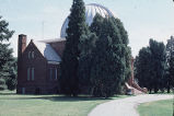 Chamberlin Observatory, side view and path