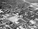 Aerial view of the University of Denver