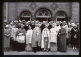 Holy Rosary Church clergy and congregation