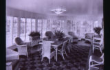 Dinning room of the Geneva Lodge